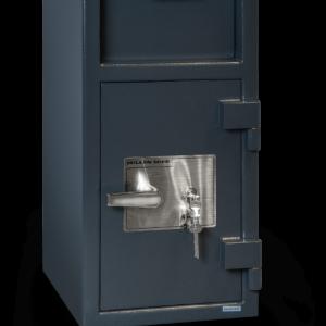 depository safe dual key lock