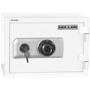 small home safe with combo lock and key