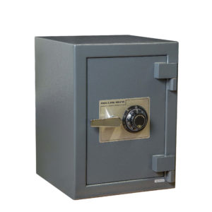 small B rated cash safe with combo lock