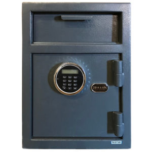depository safe with electric lock