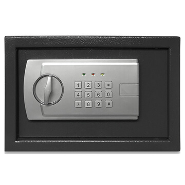 hotel safe with electronic lock