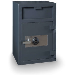 single door depository safe combination lock