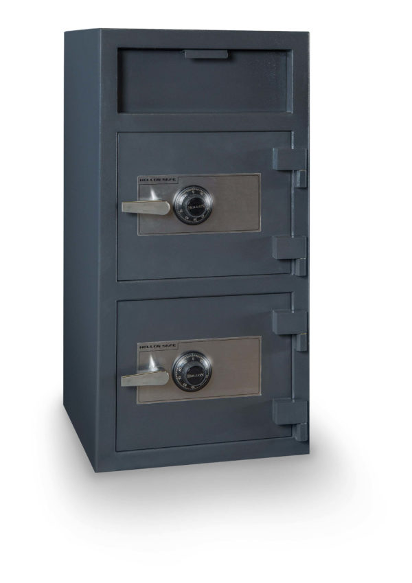 large double door deposit safe