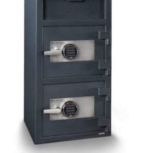double door depository safe