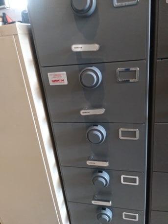 GSA certified cabinet