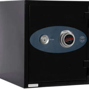 black fire safe keyed